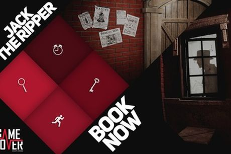 Jack the Ripper Live Escape Game for Up to Six at Escape Game Over