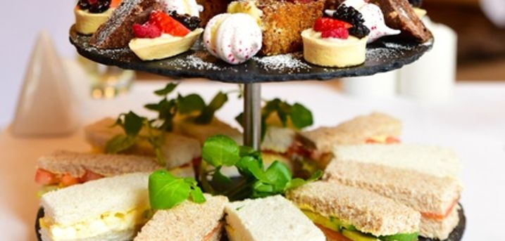 Afternoon Tea for Two or Four with Optional Bubbles at Cathedral Quarter Hotel