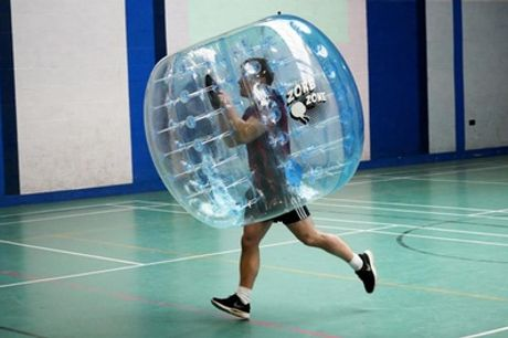 One-Hour Zorb Football Experience for Ten at Genesis Family Entertainment Centre
