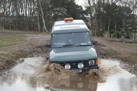 GPS 4x4 Off-Road Driving Challenge for a Family of Four at Nottingham Off Road Events