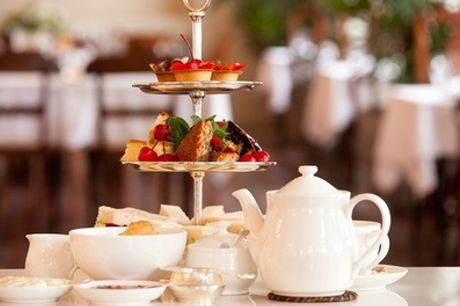 Afternoon Tea and Buck's Fizz for Two or Four at Santo's Higham Farm Hotel
