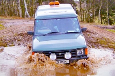 Sessions of 4x4 Off-Road Driving Experience for Up to Four at Nottingham Off Road Events