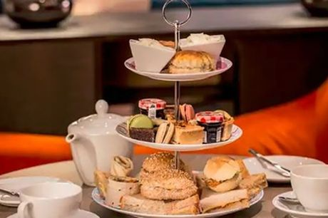 Afternoon Tea with Prosecco and Leisure Access for Two or Four at Hilton East Midlands