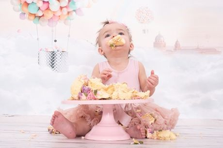 Cake Smash Photoshoot at Chris Mullane Photography