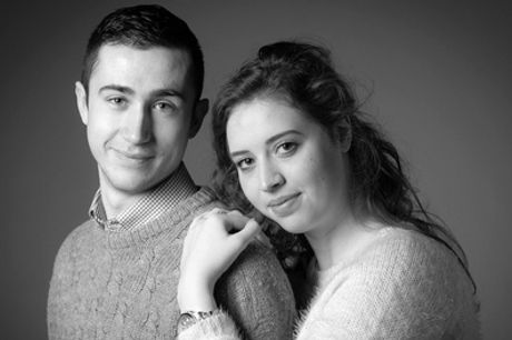 a Photoshoot for a Couple With Prints and Key Chains at Memories Portrait Photographers
