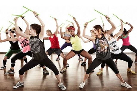 Five or Ten Zumba, Pound Rockout or Bounce Classes at Ritmo Studio