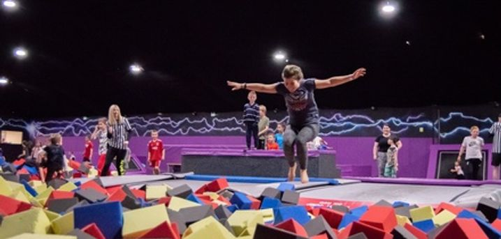 Two-Hour Trampoline Session with Grip Socks at Ryze Dundee