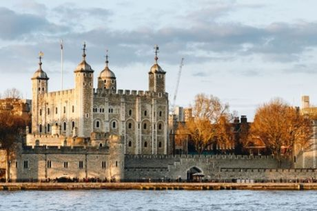 Access to Tower of London and Crown Jewels, Three-Course Meal and Drink for Two at London Steakhouse Co.