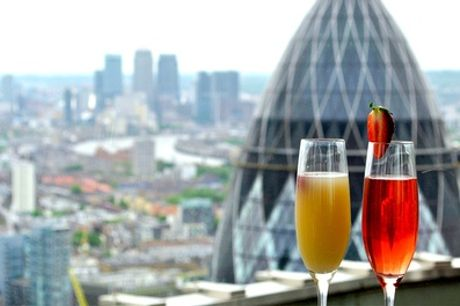 Panoramic Views, Champagne Cocktails and Sharing Platter for Two or Four at Vertigo 42