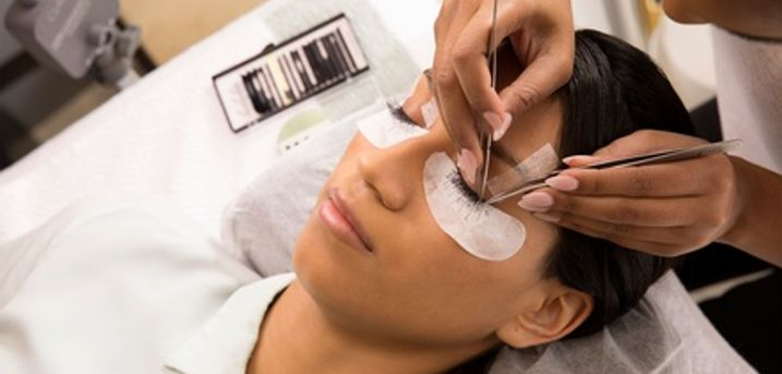 Half or Full Set of Eyelash Extensions at Beauty and Melody Spa, Four Locations