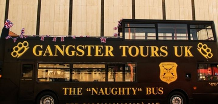 London Gangster Bus Tour for Up to Four from Gangster Tours