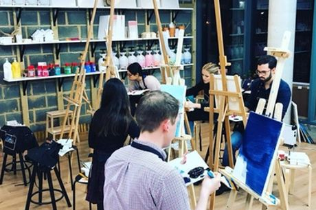 Painting Experience on Special Objects for One or Two at Liberté Concept