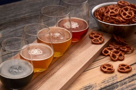 Craft Beer Tasting Session with Snacks for Two, Four or Six at Kill The Cat