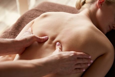 One-Hour Deep Tissue Massage at Holistic Healthcare Clinics