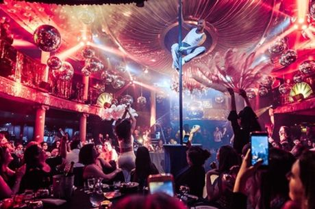 Disco Cabaret Show with Nightclub Entry at Café de Paris