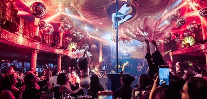 Disco Cabaret Show with Nightclub Entry at Café de Paris