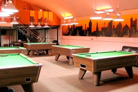 Two-Hour of Pool, Beer and Silver Membership for Two at Spots & Stripes