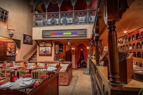 Royal Feast Set Menu for Up to Four at Souk Medina Covent Garden