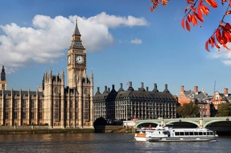 Circular Hop-On Hop-Off Cruise on the River Thames for Adult or Child at Circular Cruise Westminster