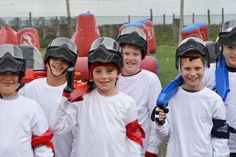 Two-Hour Low-Velocity Paintball Party for Up to 12 Kids at Bedlam Paintball