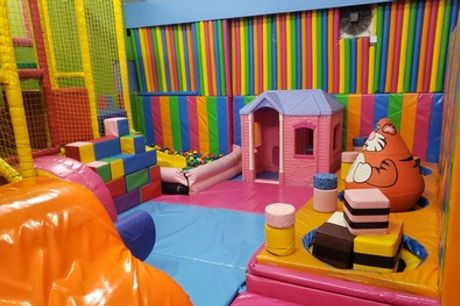 Two-Hour Soft Play and Bounce Session for Up to Four Children at Clown Around