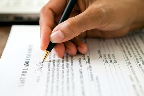 In-Home Single or Mirror Will Writing Service with Wills and Trusts Community Help