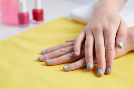 Shellac Application on Fingers or Toes, or Both at Tone and Tan