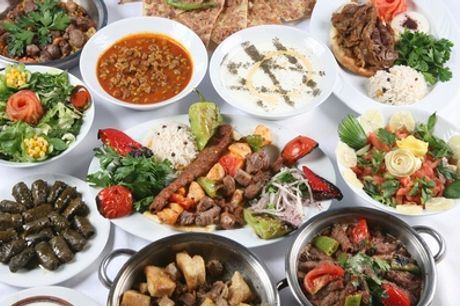 Two-Course Turkish Dining Experience for Two or Four at Stone Grill