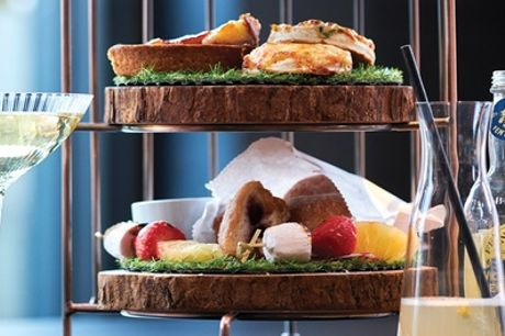 Afternoon Tea with Optional Glass of Prosecco for Two or Four at Bourgee Chelmsford (Up to 41% Off)