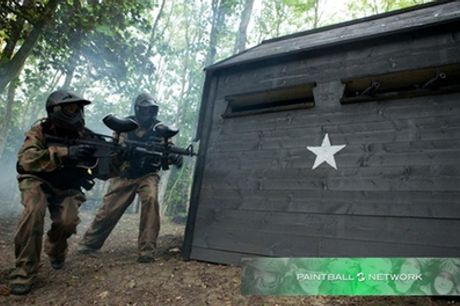 Paintball with 100 Balls and Light Lunch for Five, Ten or 15 at Paintball Networks, Multiple Locations
