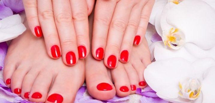 Spa Manicure, Pedicure or Both at Navara Beauty Wellingborough