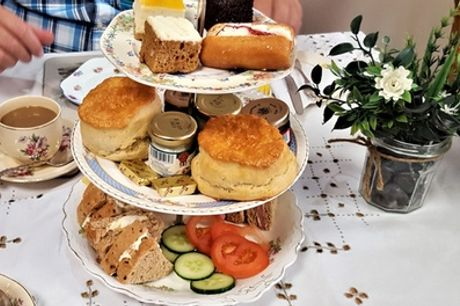 Afternoon Tea for Two or Four at Bumbles Tea & Coffee Lounge