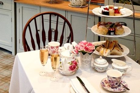 Classic or Sparkling Afternoon Tea for Two or Four at The Grange Manor