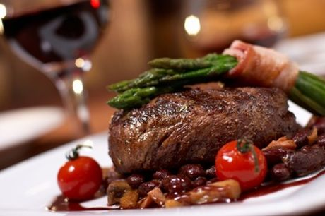 Sirloin Steak or Main Meal with a Glass of Wine for Two or Four at Reeds Restaurant