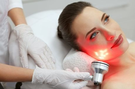 Dermaplaning, Chemical Peel and LED Light Treatment Package at Beauty Lounge
