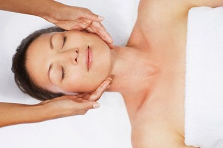 One-hour massage and express facial at 4 You Hair and Massage Studio