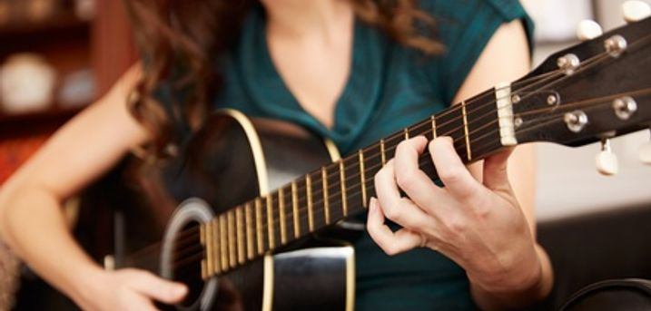 Four One-Hour Guitar or Drum Lessons for One at Maryhill Community Music