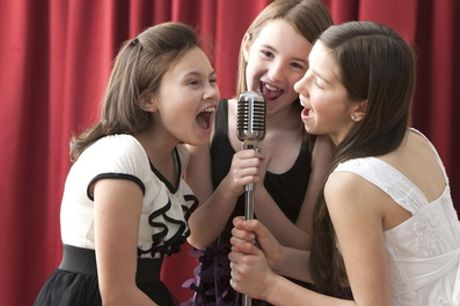 One-Hour Kids Recording Studio Party For Up to 20 with Pop Music Experience