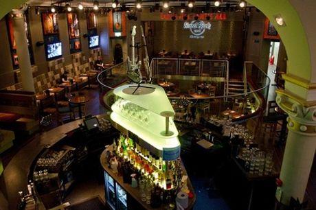 Skip the Line: Hard Rock Cafe Glasgow Including Meal