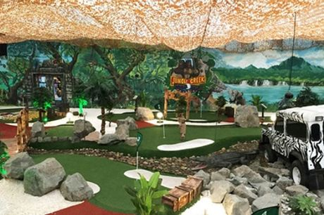 Soft Play and Golf for Up to Two Adults and Two Children at Soccerworld & Kidzworld - Glasgow