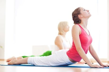 Five Yoga Classes for One or Two at The Yoga Pilates Place