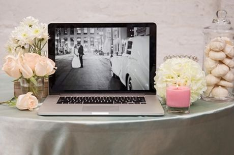 Up to Eight Hours of Wedding Photography and Five Prints from SS Photography