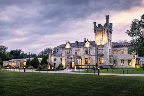 Co. Donegal: 1 or 2 Nights for Two with Breakfast and Dinner at 5* Lough Eske Castle