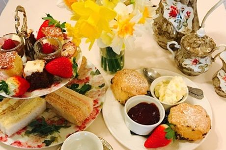 Traditional or Sparkling Afternoon Tea for Two or Four at Rowley Manor Hotel