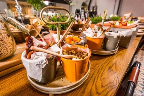 All-You-Can-Eat Breakfast for Two or Four at Fire Lake at Radisson Blu Leeds