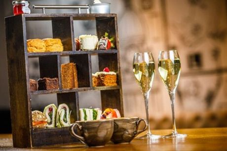 Sparkling Afternoon Tea for Two or Four at Fire Lake at 4* Radisson Blu Leeds
