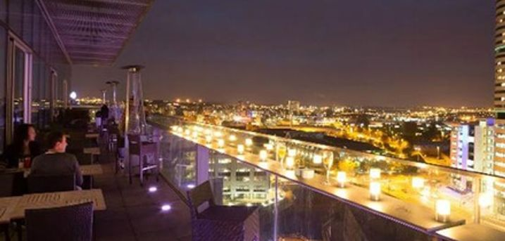 Choice of Cocktails and Nibbles for Up to Eight at Sky Lounge at DoubleTree Hilton Leeds
