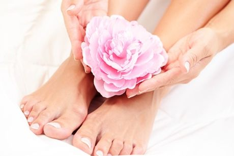 Spa Manicure, Pedicure or Both at Hands Tanned