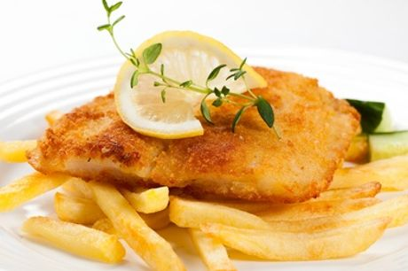 Fish and Chips with Prosecco for Up to Six at Lazy Lounge