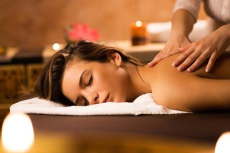 Back Facial, Neck, Shoulder and Arms Massage with Facial at Bodyline Plus